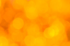 Yellow bokeh background royalty free stock photography