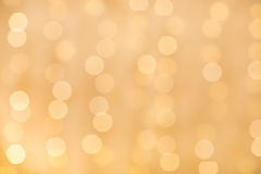 Yellow Bokeh Stock Photography