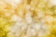 Yellow bokeh wallpaper royalty free stock image