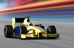 Yellow bolide Stock Photos