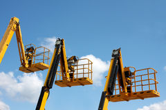 Yellow booms Stock Photo