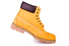 Yellow boots Royalty Free Stock Images