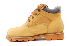 Yellow Boots Royalty Free Stock Photos