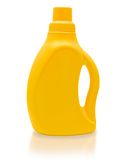 Yellow bottle. Royalty Free Stock Photography