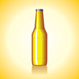 Yellow bottle Royalty Free Stock Images