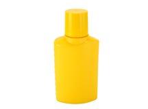 Yellow bottle Stock Photo