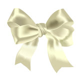 Yellow bow Royalty Free Stock Photography