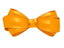 Yellow Bow Stock Image
