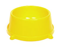 Yellow bowl Royalty Free Stock Images