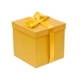Yellow box Royalty Free Stock Image