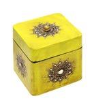 Yellow box Royalty Free Stock Photos