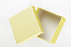 Yellow box Royalty Free Stock Image