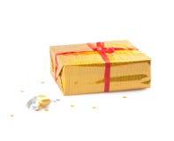 Yellow box Stock Image