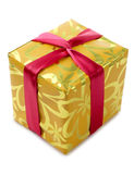 Yellow box Royalty Free Stock Photography