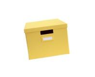 Yellow Box Stock Photo