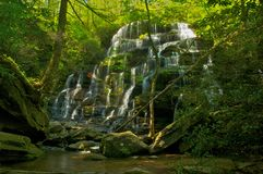 Yellow Branch Falls South Carolina in Spring Royalty Free Stock Photo