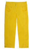 yellow breeches Royalty Free Stock Image