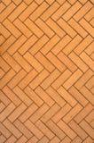 Yellow brick floor pavement. Stock Photos