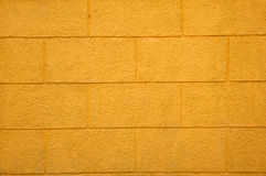 Yellow brick texture Royalty Free Stock Images