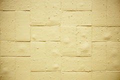 Yellow Brick Wall Stock Photo