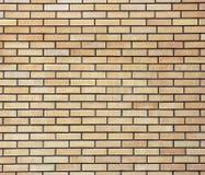 Yellow brick wall. Stock Photo