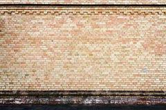 Yellow brick wall background Stock Photo