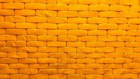 Yellow brick wallpaper Royalty Free Stock Photos