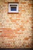 Yellow brick wall Royalty Free Stock Photography