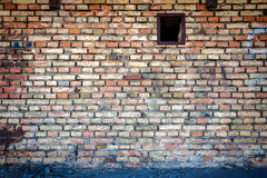 Yellow brick wall Royalty Free Stock Photos