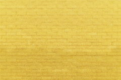 Yellow Brick Wall Stock Photography