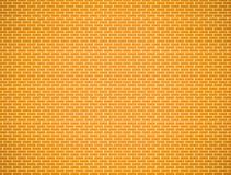 Yellow brick wall pattern Stock Images