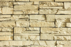Yellow brick wall texture background. Stock Photo