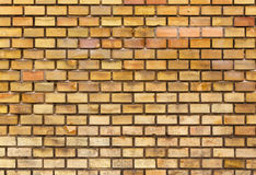 Yellow brick wall texture Stock Photo