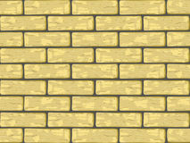 Yellow Bricks Royalty Free Stock Photography
