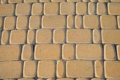 Yellow bricks Stock Photos