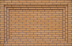 Yellow brickwork Stock Photos