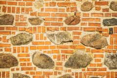 Yellow brickwork Stock Photo