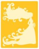 Yellow bride Stock Photos