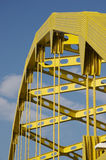 Yellow Bridge Royalty Free Stock Photography
