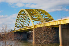 Yellow Bridge Royalty Free Stock Photos