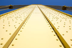 Yellow Bridge Upshot Royalty Free Stock Photos