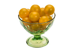 Yellow bright tomato Royalty Free Stock Photos