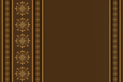 Yellow-brown background Royalty Free Stock Images