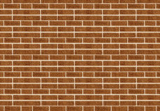 Yellow brown brick wall texture background Stock Images