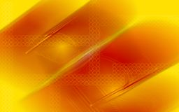 Yellow and brown light background Royalty Free Stock Image