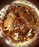 Retro disco ball royalty free stock photo