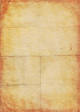 Yellow brown paper page Royalty Free Stock Photo