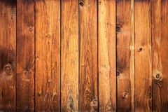 Yellow-brown  wooden background Royalty Free Stock Image
