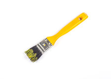 Yellow brush Stock Images
