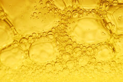 Yellow bubbles Royalty Free Stock Photo